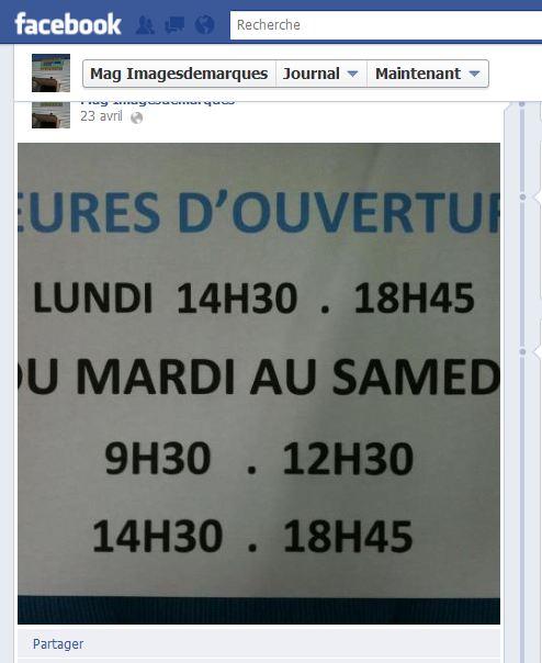 Facebook Magasin Images de marque