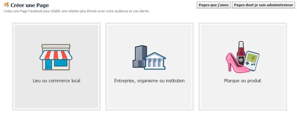 Comment créer une page professionnelle sur Facebook ?