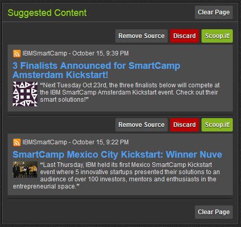 Dossier Curation 4: Scoop.It, des fonctions de partage et de découverte de contenus 4/6