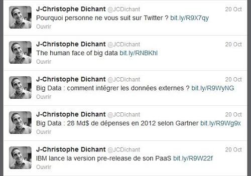 Jean-Christophe Dichant sur Twitter