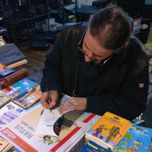 Olivier Rogel, dessinateur de Ratus