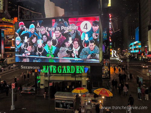New-York TImes Square Publicités