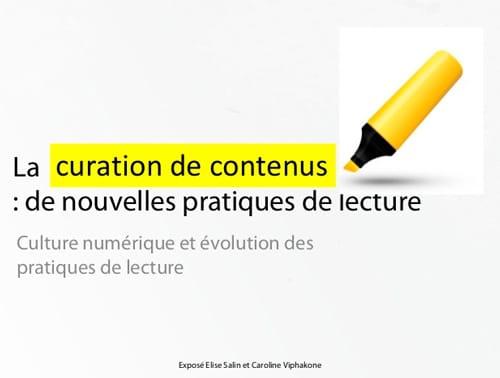 All About Curation | Tout sur la curation - Magazine cover