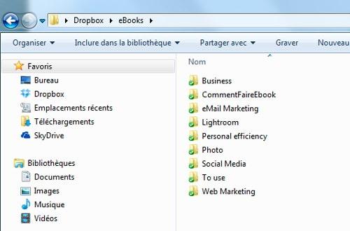 Dropbox - outil de gestion de fichiers