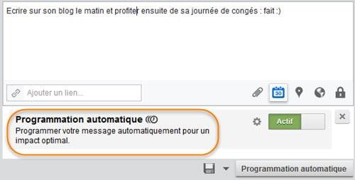 Comment programmer un message sur Hootsuite