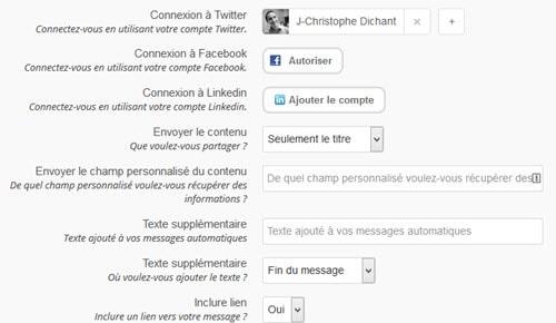 Plugin Revive Old Post pour WordPress