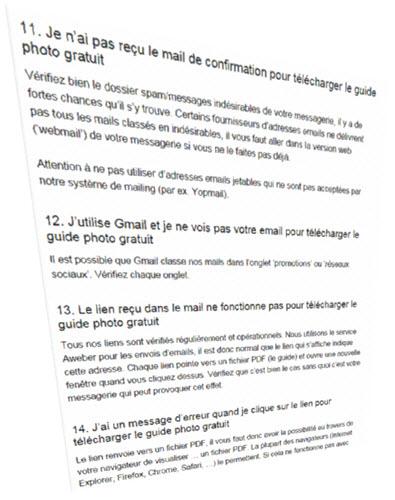 Comment Créer une page FAQ pour un blog