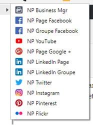 Mes extensions Google Chrome et des raccourcis pour gérer blogs et réseaux sociaux