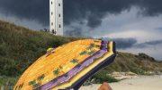 Chronique d'un été trop connecté - illustration orage sur une plage en Bulgarie