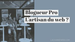 Blogueur pro, l'artisan du web ?