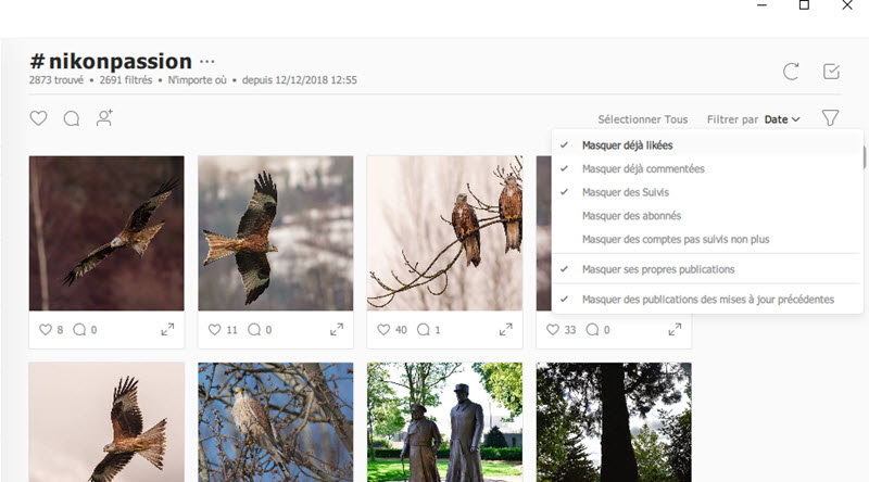 Combin : gagner du temps pour développer une audience Instagram pertinente